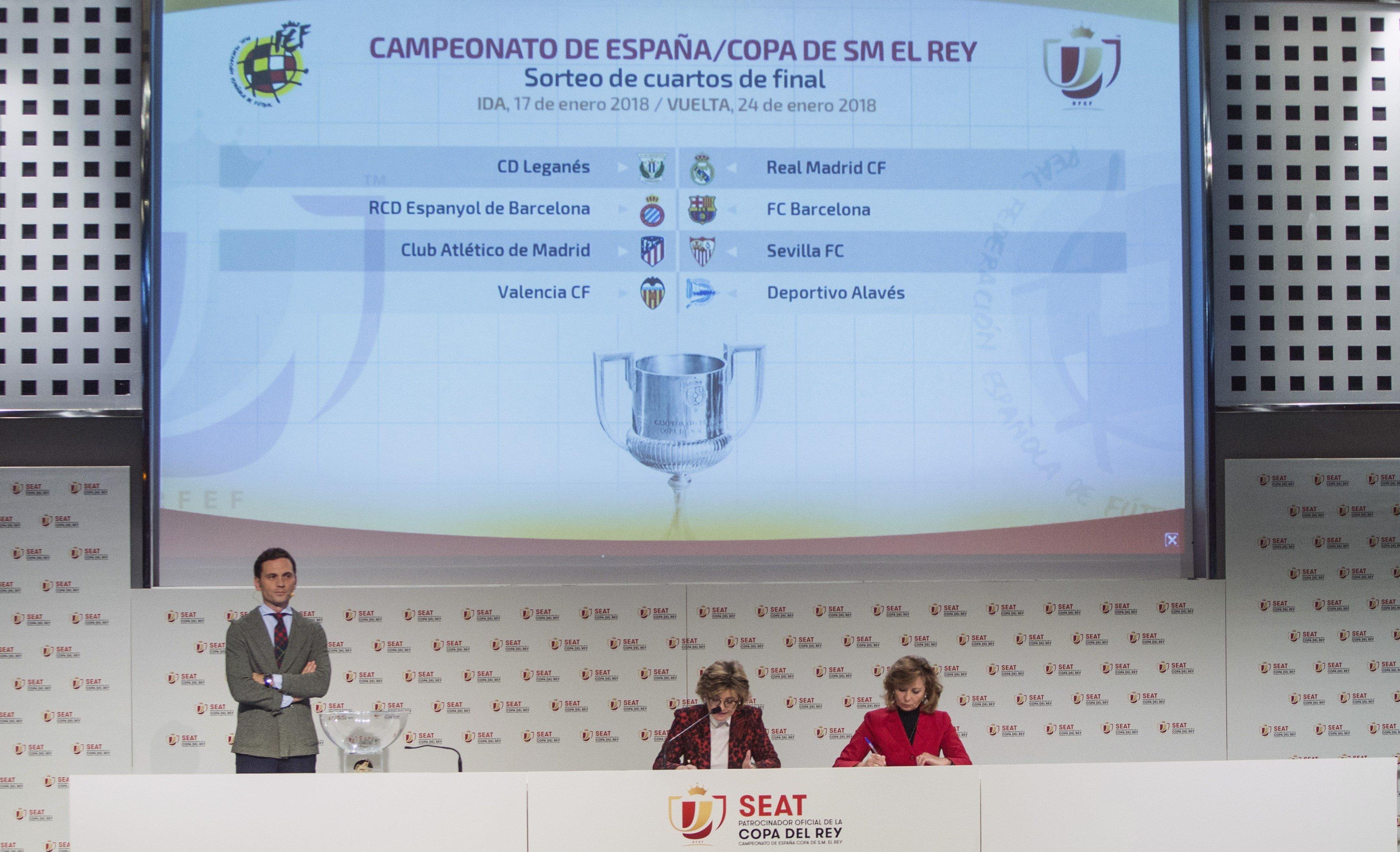 Sorteo cuartos de final de la Copa del Rey - Conexión ...