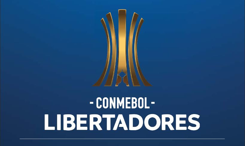 Picture of the Copa Libertadores logo taken from Conmebol site on October 9, 2018 in Montevideo. (Photo by Pablo PORCIUNCULA BRUNE / AFP)