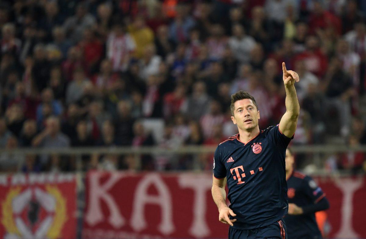 Bayern ganó con goles de Lewandowski