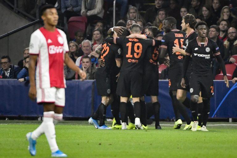 El Chelsea ganó al Ajax en Champions