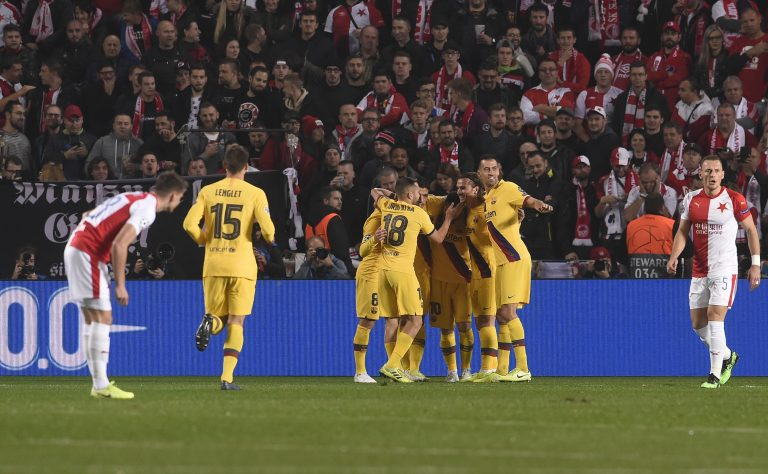 Barcelona - Slavia Praga