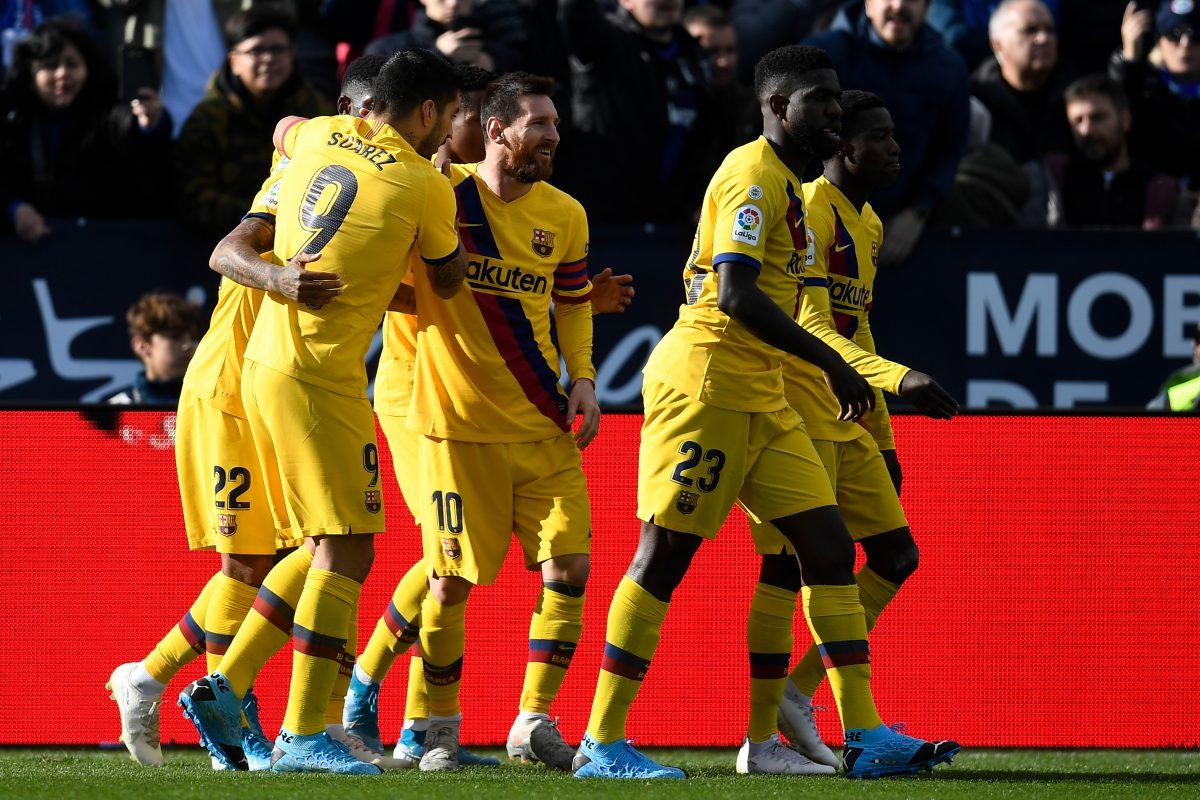 Barcelona - Leganés, Suárez