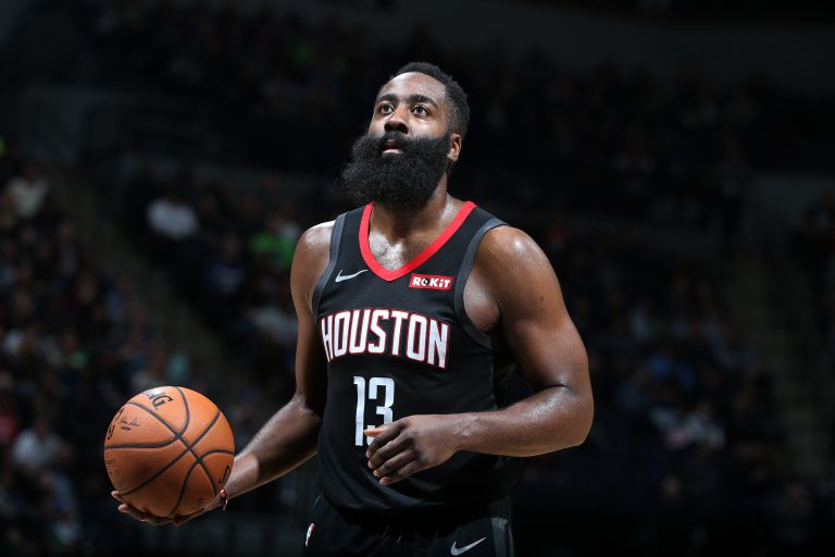 Houston Rockets v Minnesota Timberwolves, Harden