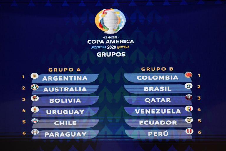 Chile y Argentina abrirán Copa América 2020