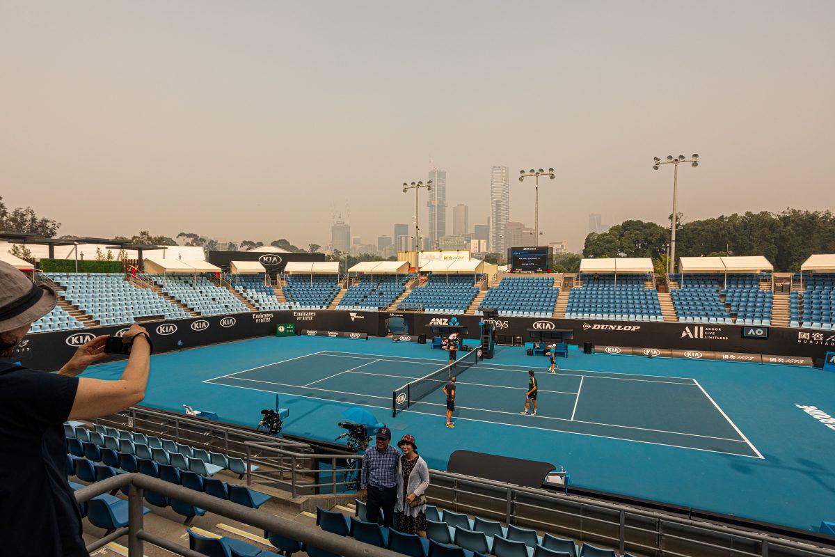 Clasificación del australia Open fue retrasada