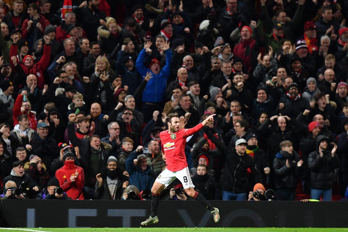 Juan Mata salvó al Mnahcester United