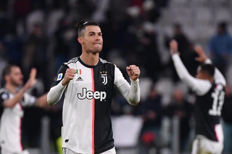 Cristiano marcó doblete para la Juve ante Parma