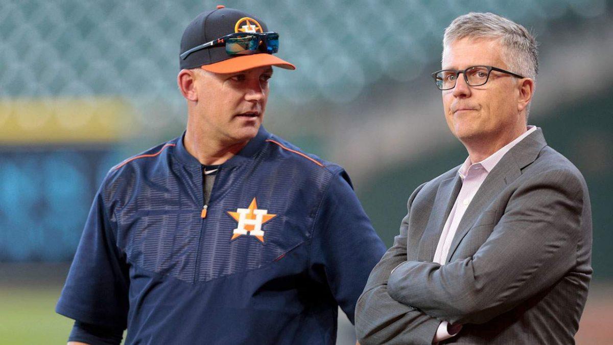 Hinch y Lunhow, suspendidos por la MLB
