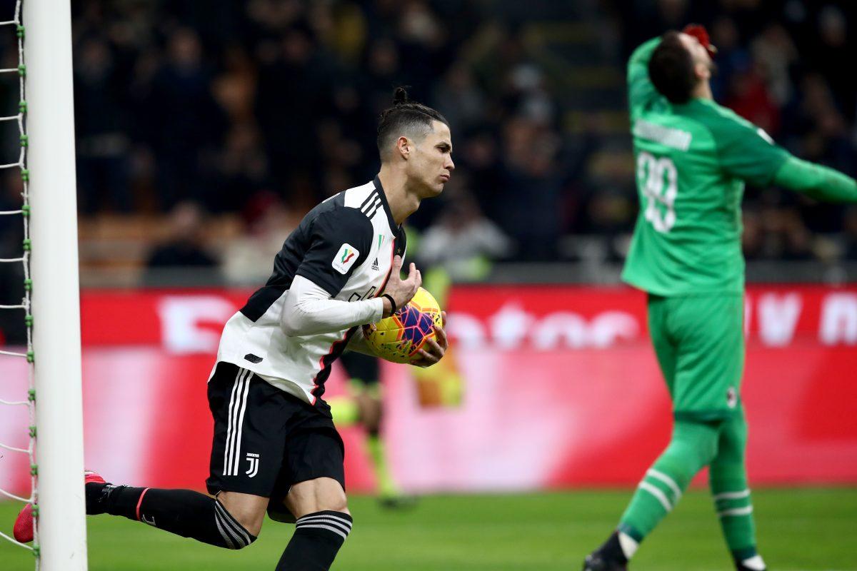 Cristiano vs Milan