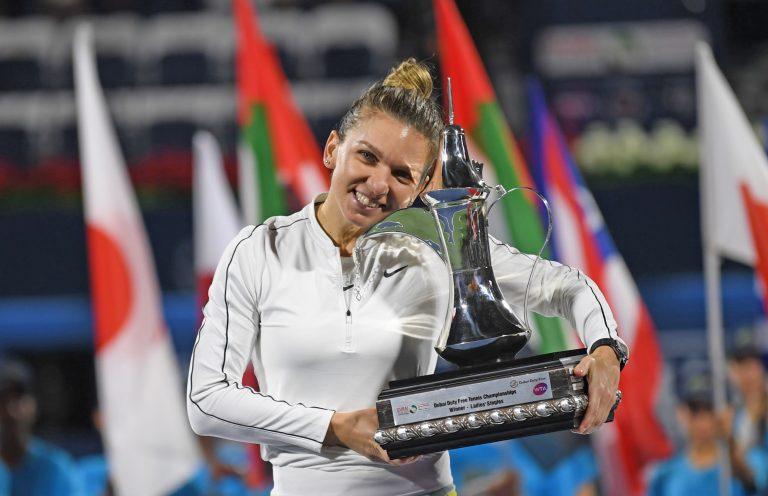 Simona Halep, WTA de Dubai