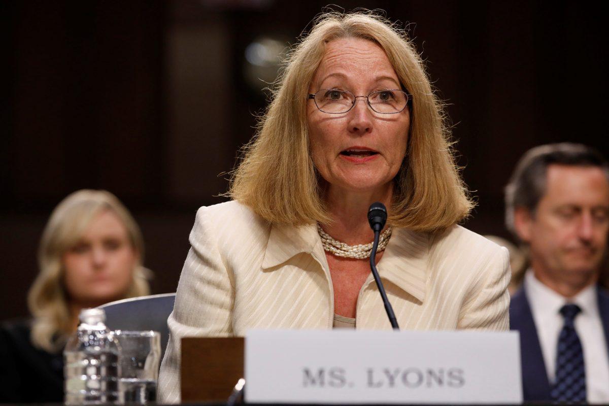 Susanne Lyons, presidenta del Comité Olímpico de USA