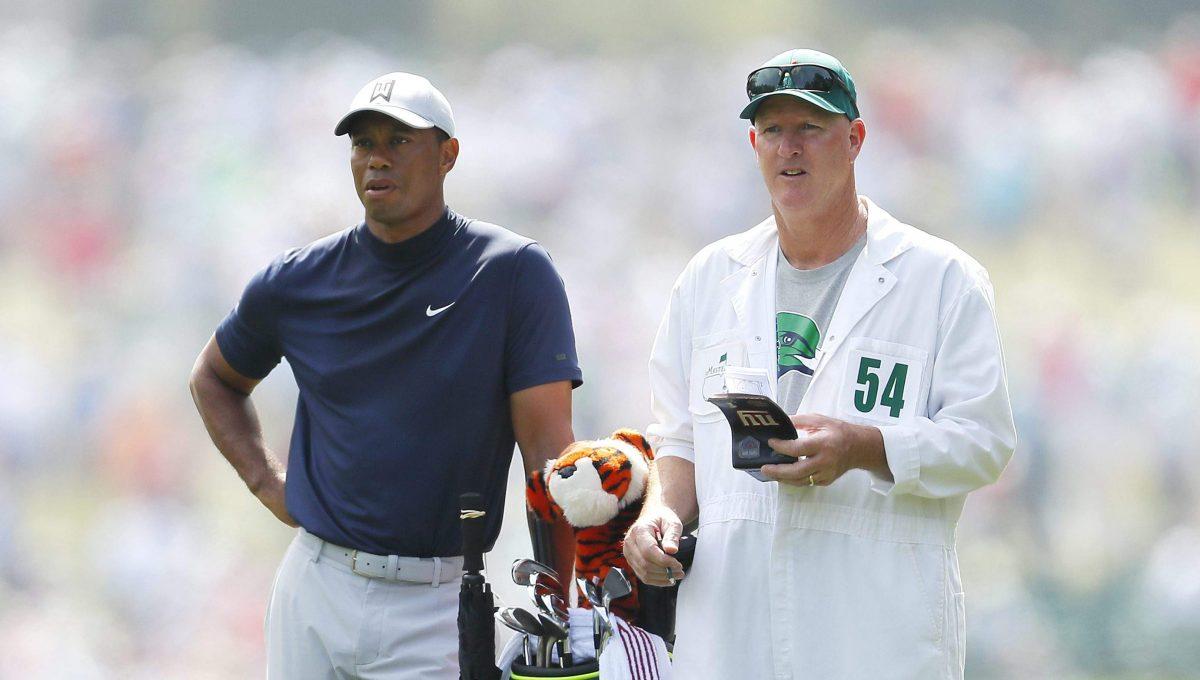 Tiger Wood y Joe LaCava