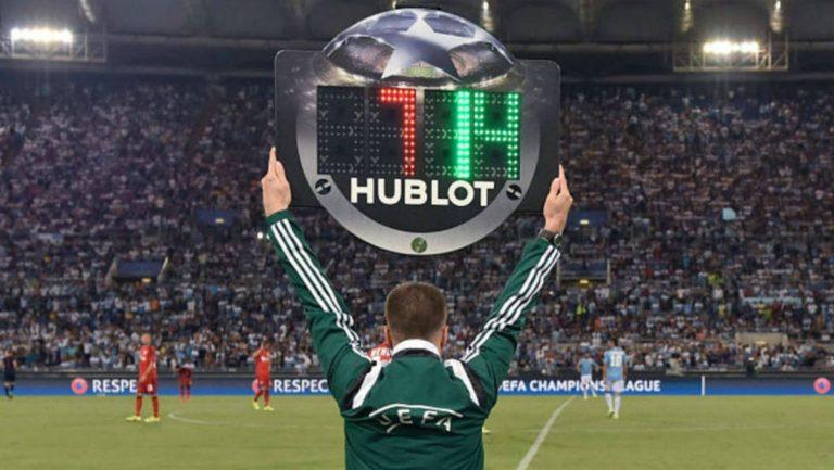 Sustituciones en fútbol