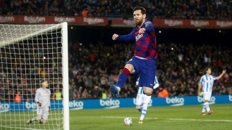 Messi Lineker