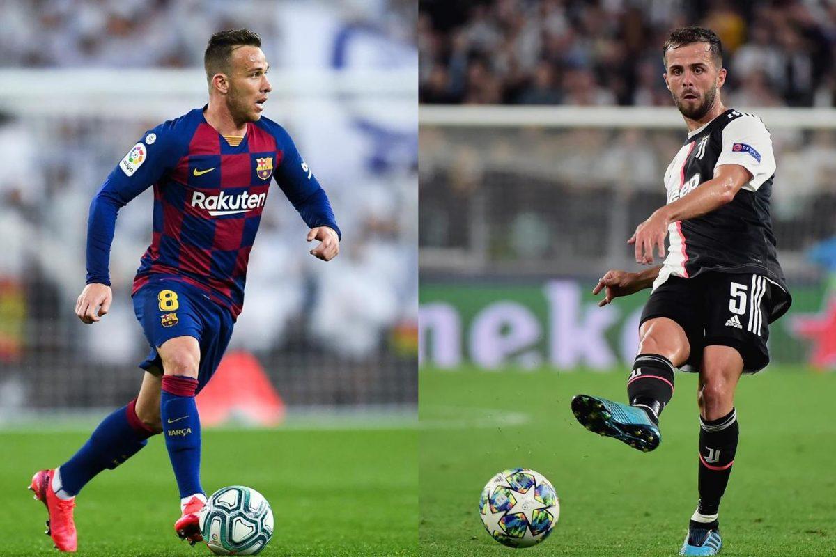 Arthur y Pjanic - Barcelona y Juve