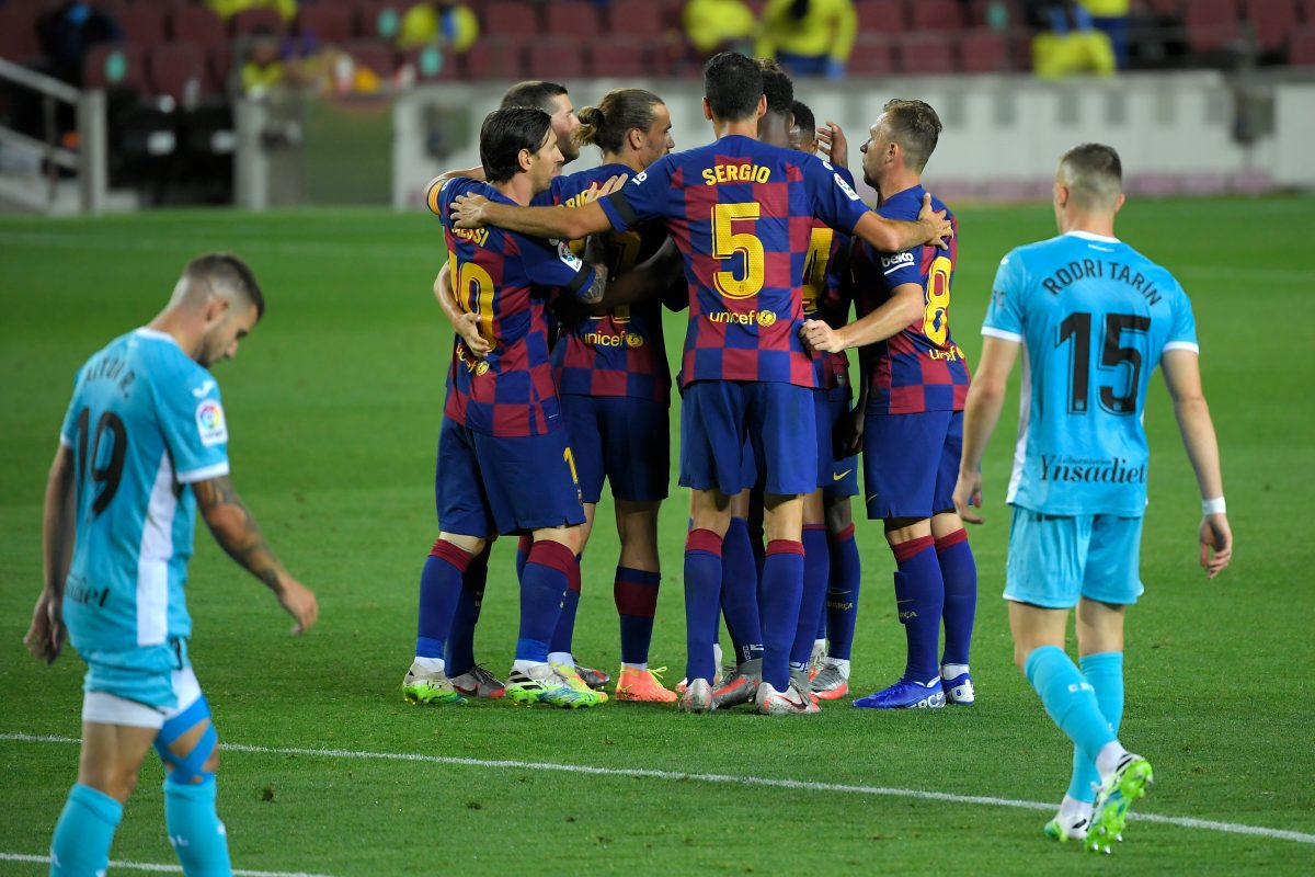Barcelona - Leganés