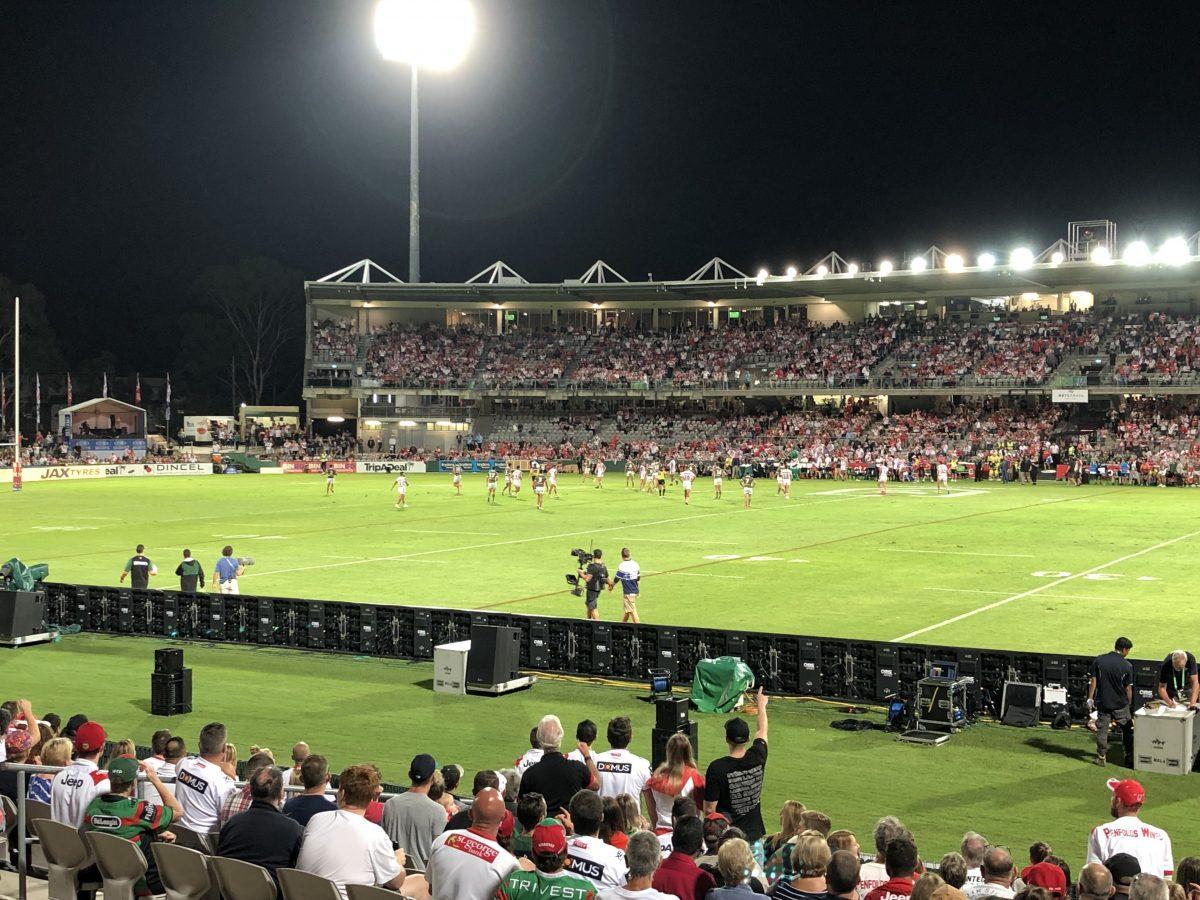 Estadio de fútbol de Australia