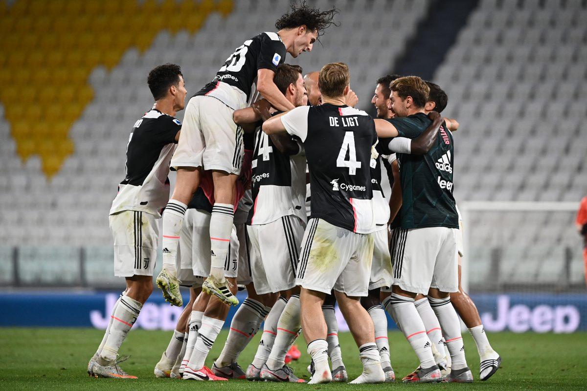 La Juventus se proclama campeona de la Serie A por novena vez consecutiva