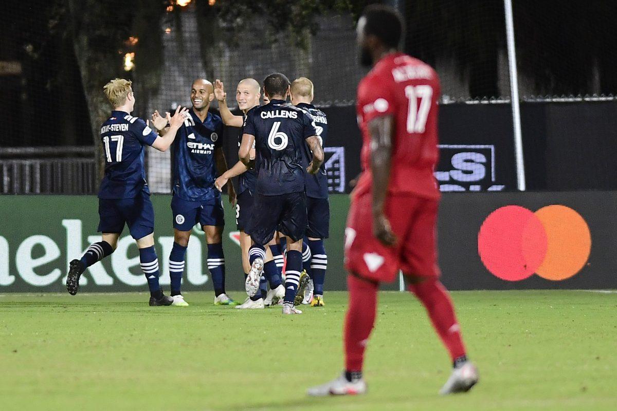 Toronto FC v New York City FC: Knockout Round - MLS Is Back Tournament