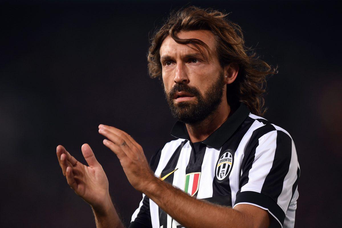 Andrea Pirlo new Juventus' head coach