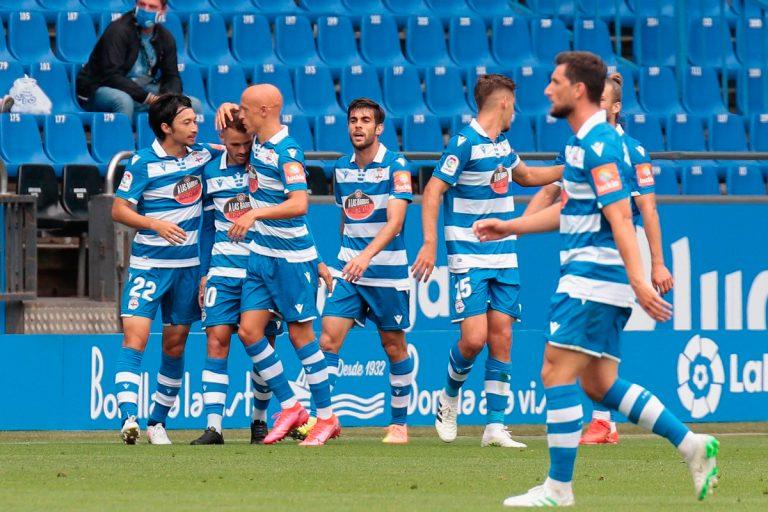 Deportivo venció al Fuenlabrada