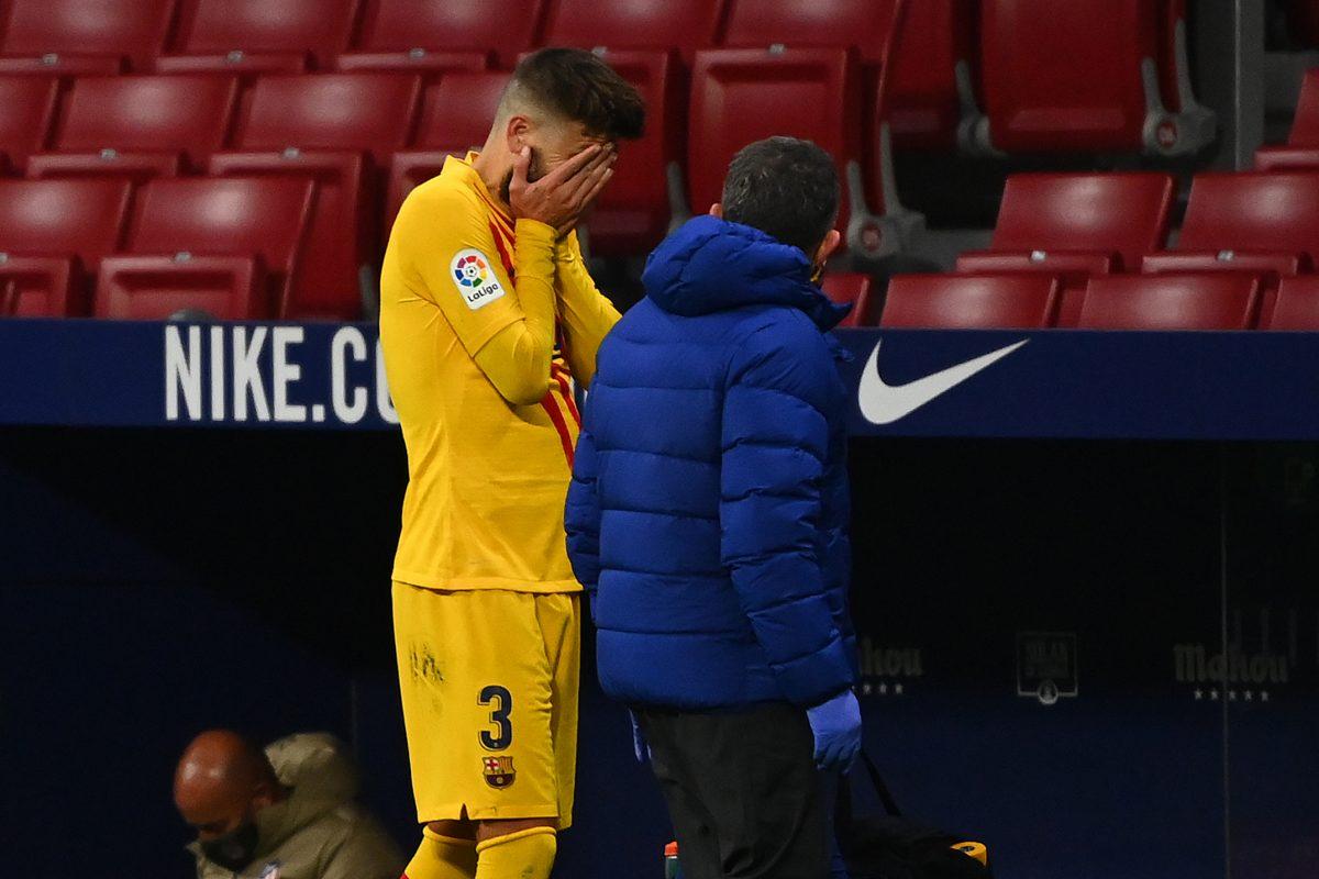 Barcelona - Piqué
