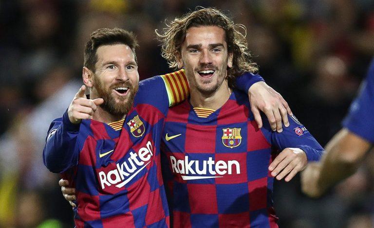 Messi - Griezmann