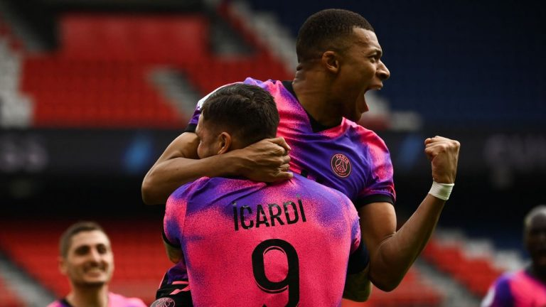 Icardi y Mbappé