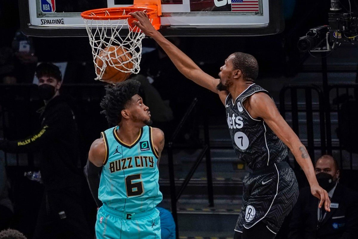 Kevind Durant vs Hornets