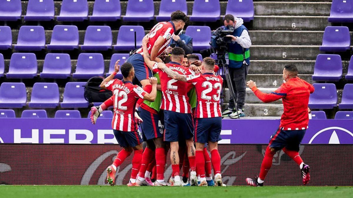 Atlético - Valladolid