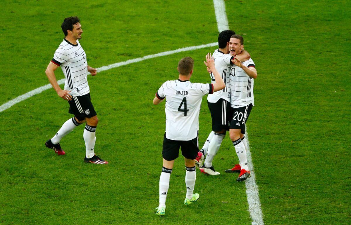 Alemania - Letonia