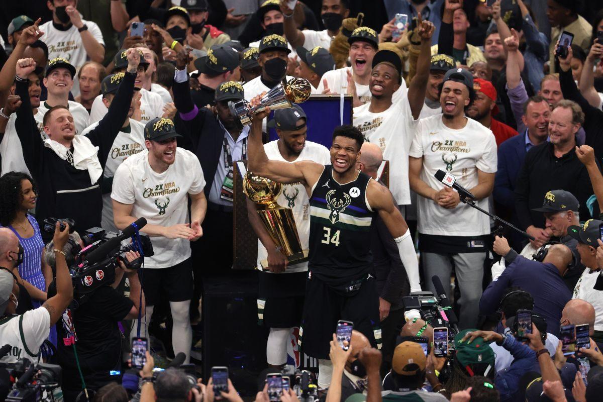 Milwaukee Bucks - JONATHAN DANIEL / GETTY IMAGES