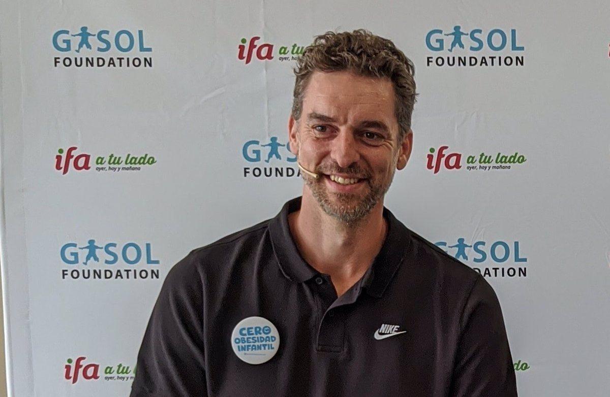 28-12-2020 Pau Gasol en el acto de su fundación DEPORTES GASOL FOUNDATION